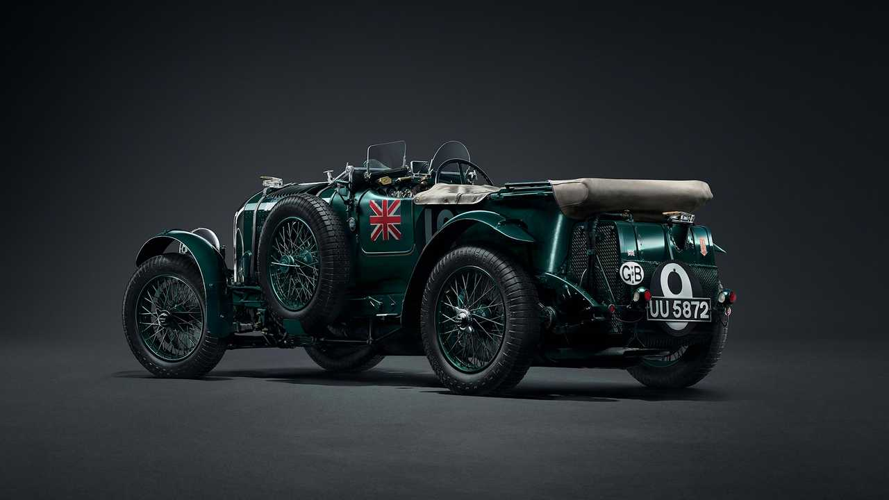 1929 bentley supercharged 41 2 litre blower 1