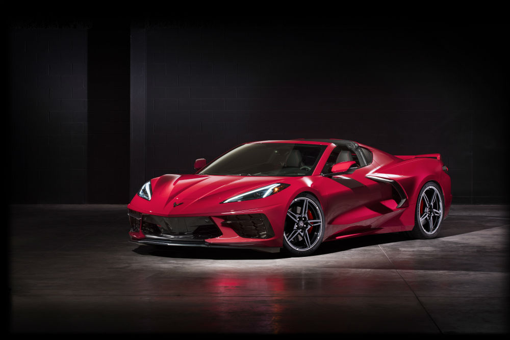2020 Chevrolet Corvette Stingray rojo