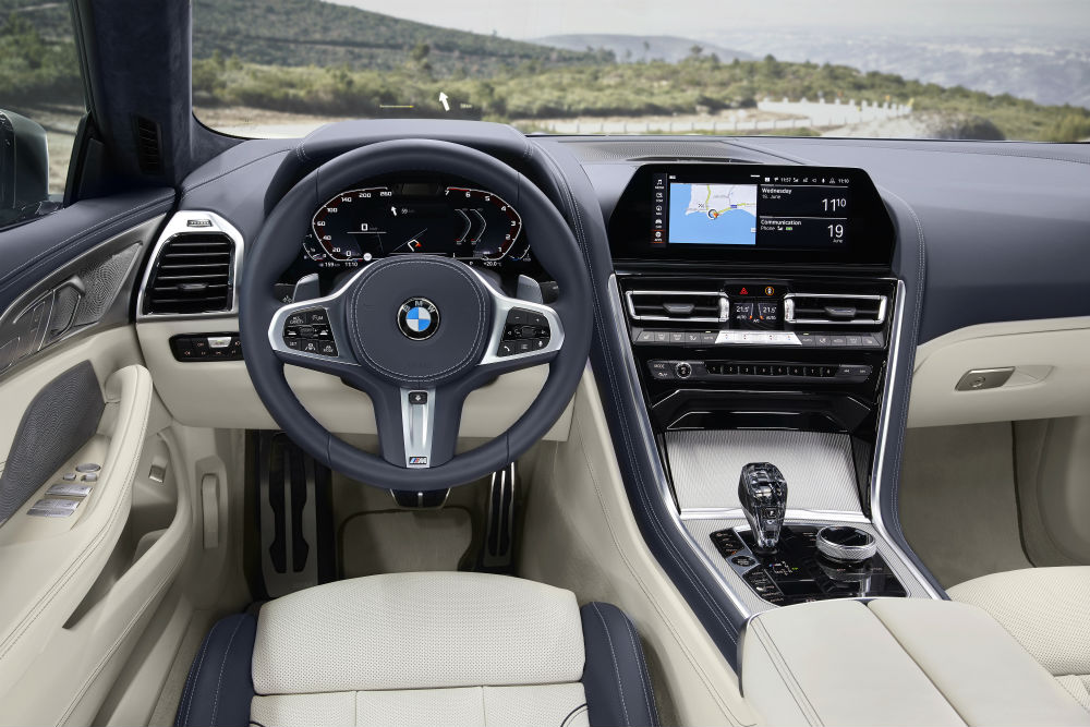 BMW Serie 8 gran coupe interior