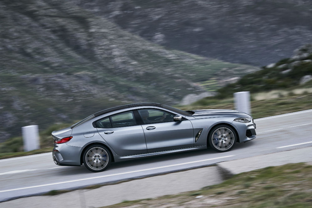 BMW serie 8 gran coupe lateral