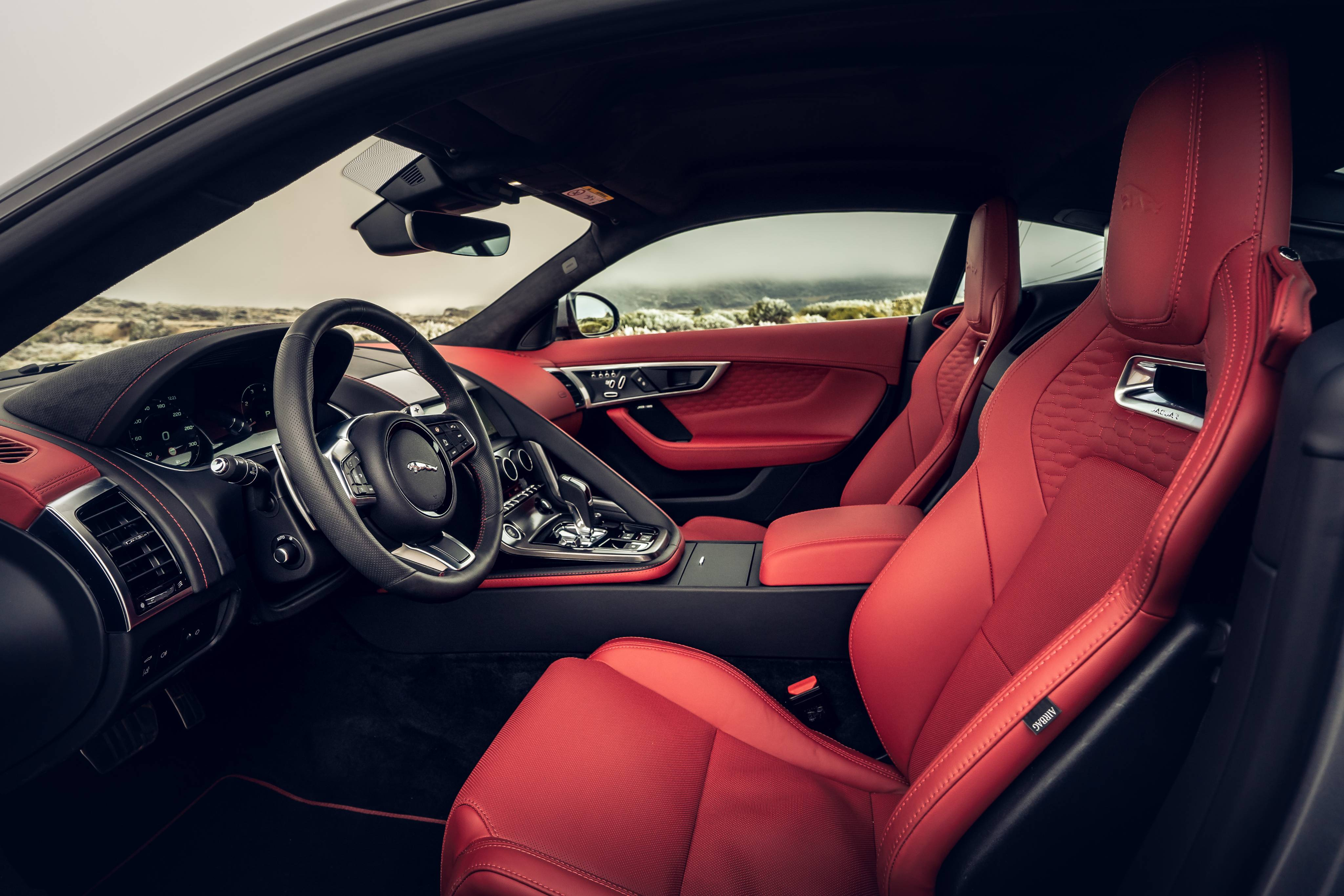 New Jaguar F TYPE P300 Coupé INTERIOR