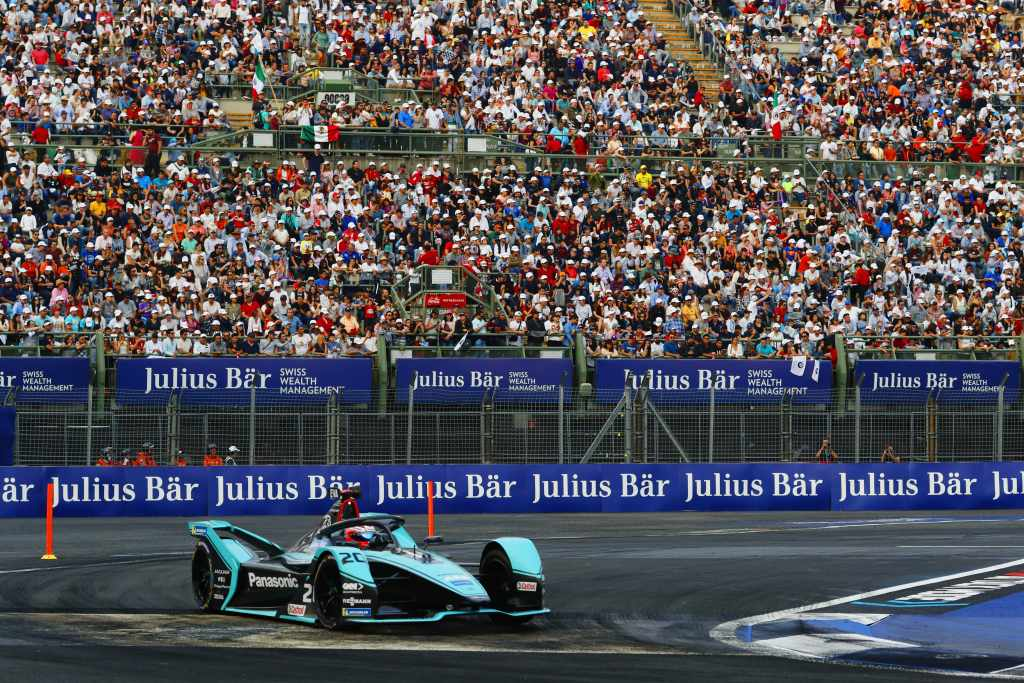Panasonic Jaguar Racing Mexico City E Prix 2020 Mitch Evans