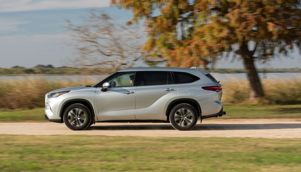 Toyota Highlander 2020 lateral