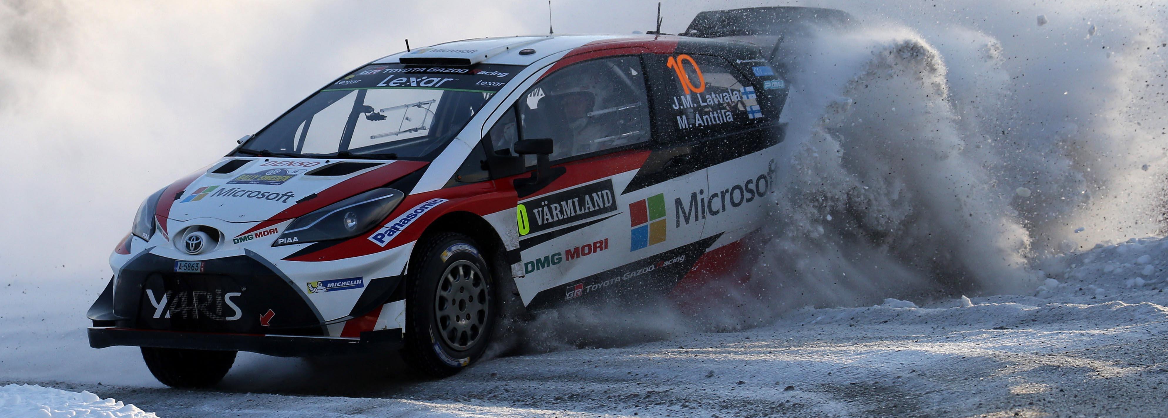 Suecia se rinde a los pies de Latvala y Toyota.