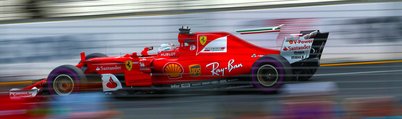 Sebastian Vettel y Ferrari ganadores en la nueva era.