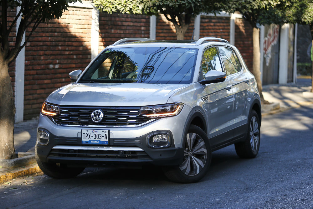 volkswagen t cross frontal