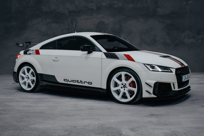 Audi TT RS 40 years of quattro: por las viejas glorias